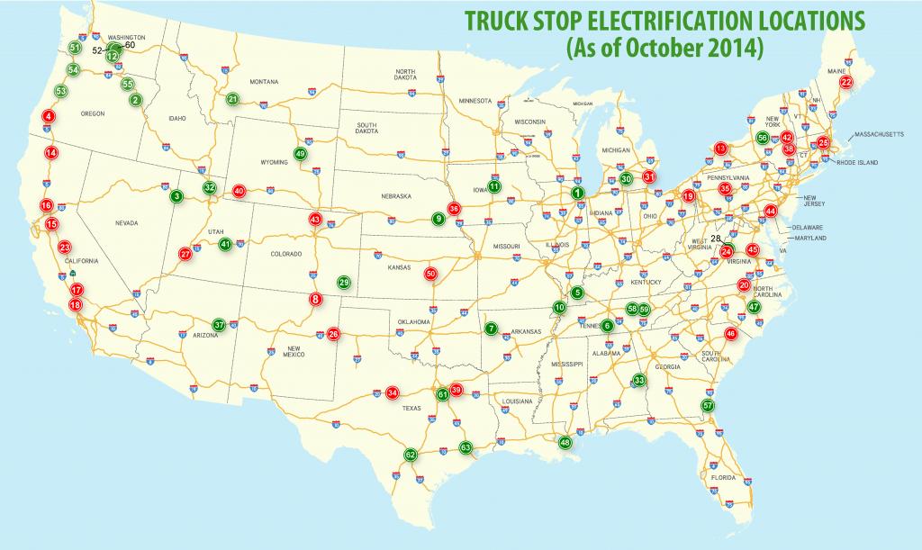 Shorepower Technologies: Locations - Flying J California Map