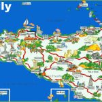 Sicily Tourist Map - Printable Map Of Sicily
