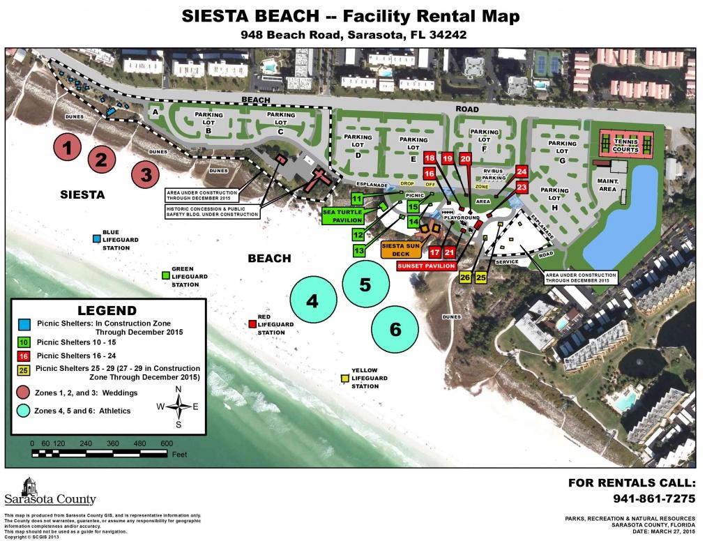 Siesta Key Beach Wedding Location In Sarasota - Florida Public Beaches Map