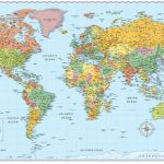 Signature Edition World Wall Maps In 2019 | Moon | World Map Poster   Free Printable World Map Poster