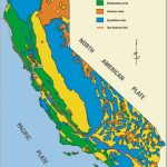 Simplified Geologic Map Of California (From California Geological - California Geological Survey Maps