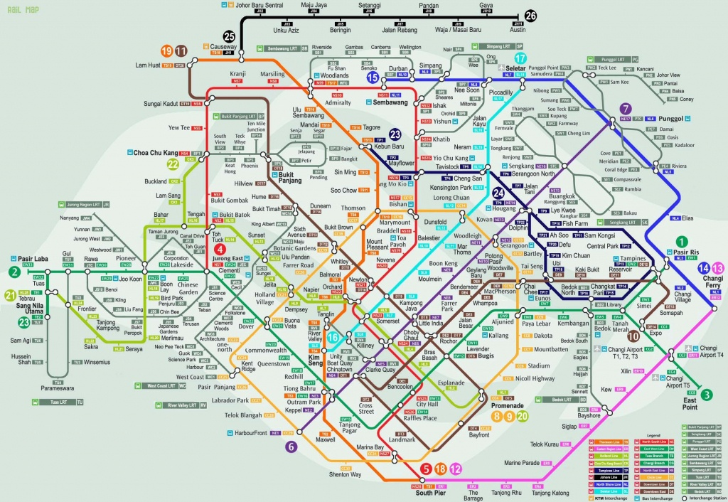 Singapore Mrt Map | Traveling | Singapore Map, Map, Singapore City - Singapore Mrt Map Printable