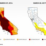 Six Images Show What Happened To California's Drought — Water Deeply   California Drought 2017 Map