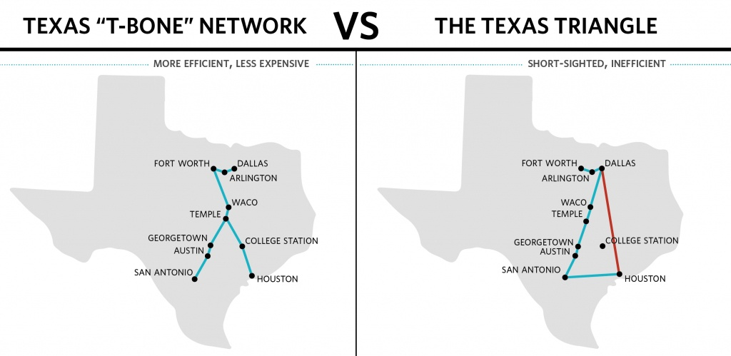 Sncf America, Inc. States Proposed Texas Central Rail Project Would - High Speed Rail Texas Route Map