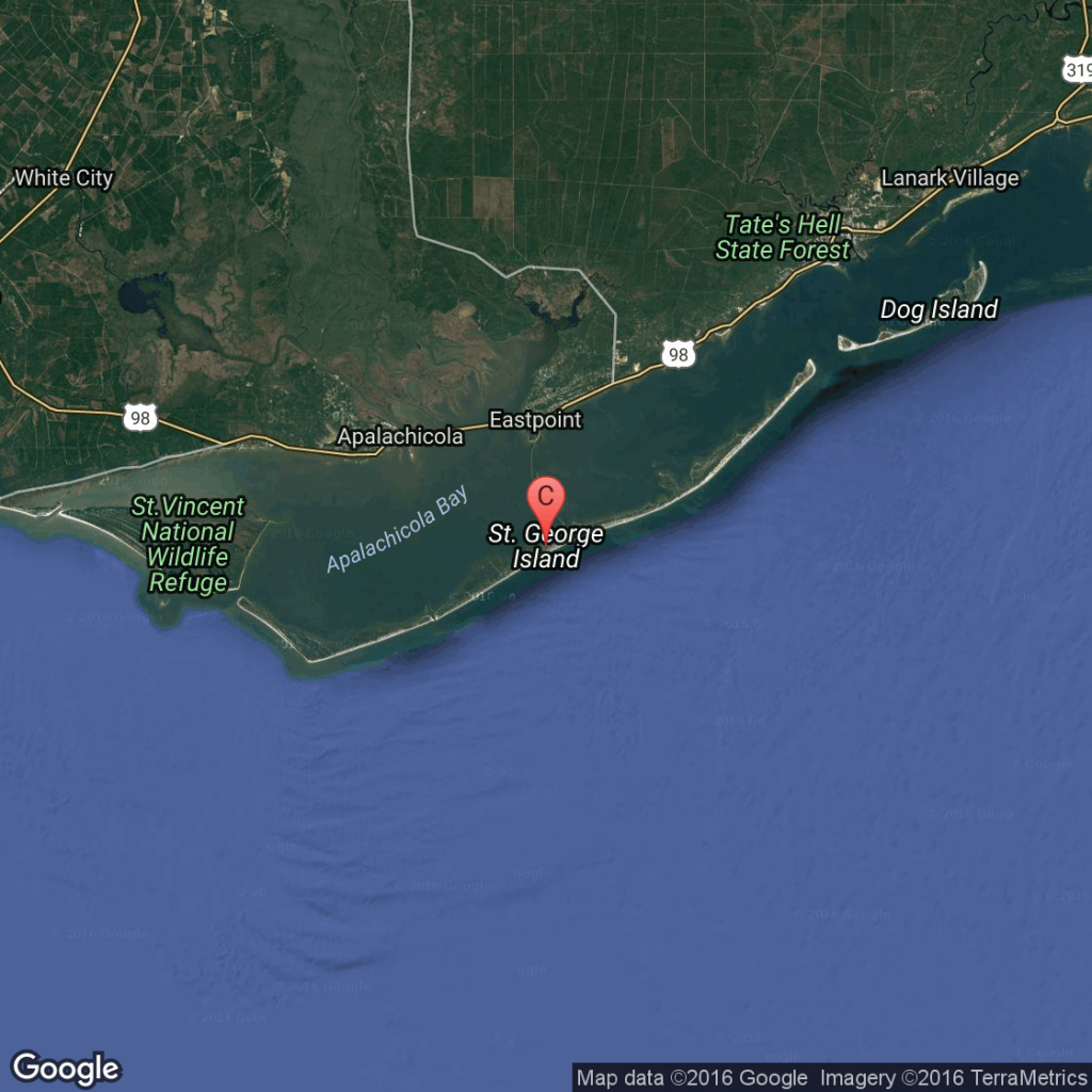 Snorkeling In Saint George Island | Usa Today - St George Island Florida Map