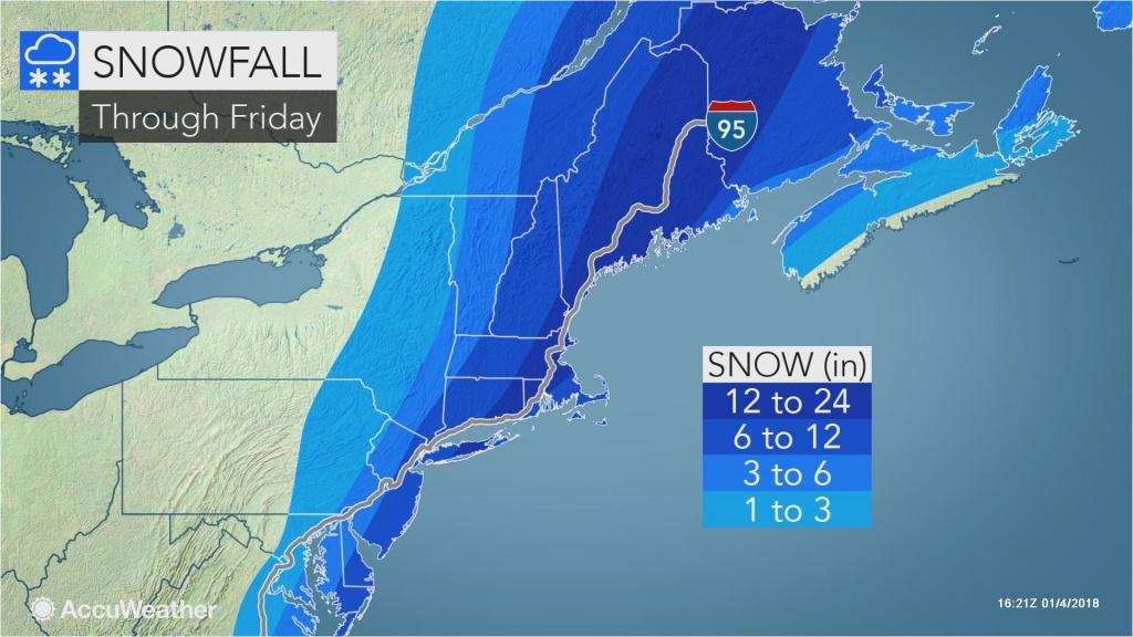 Snow Depth Map California Snowstorm Pounds Mid Atlantic Eyes New - Snow Level Map California