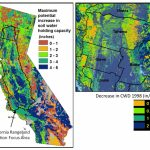 Soil Carbon & Greenhouse Gas Mitigation | Usgs Ca Water Science Center   California Soil Map