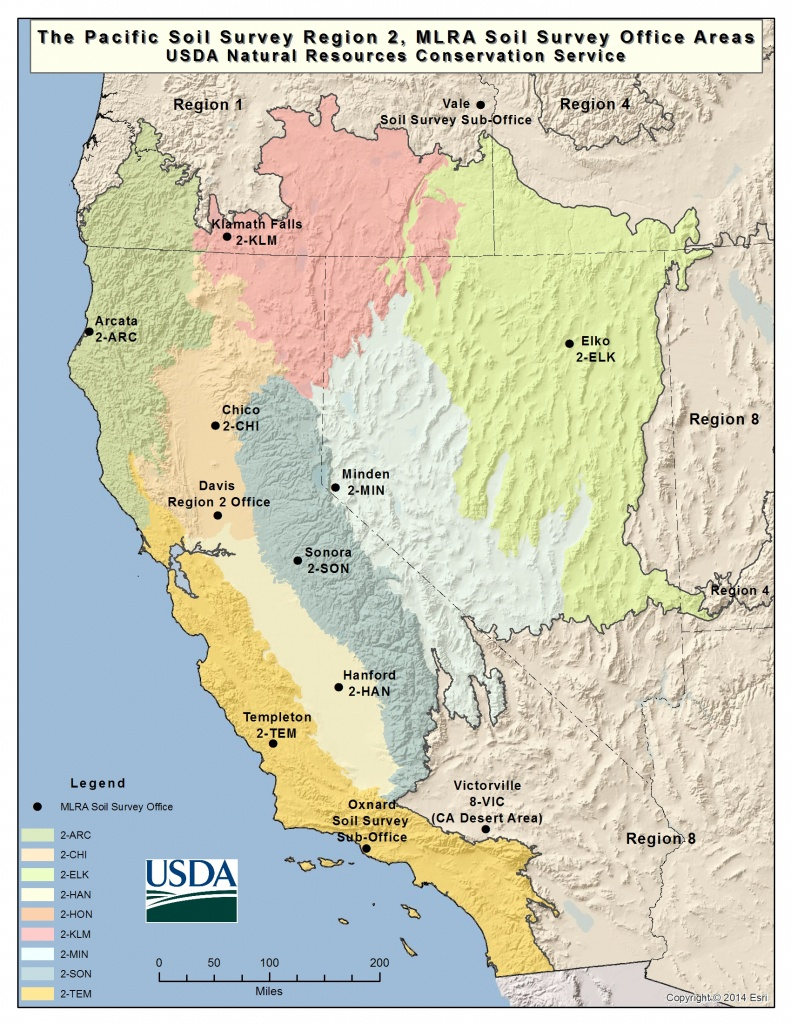 Soils | Nrcs California - California Soil Map