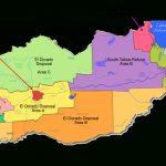 Solid Waste Franchise Area Map   El Dorado County California Parcel Maps