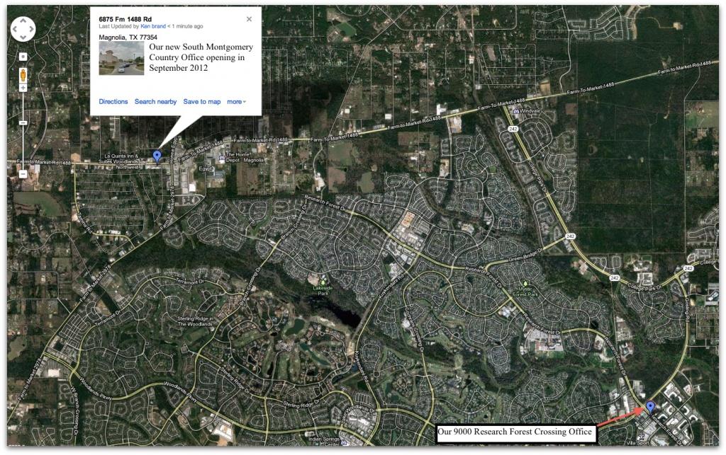 Somoco Google Map - - Google Maps Magnolia Texas