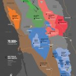 Sonoma Wine Map (Poster) | Wine Folly   California Wine Map Poster