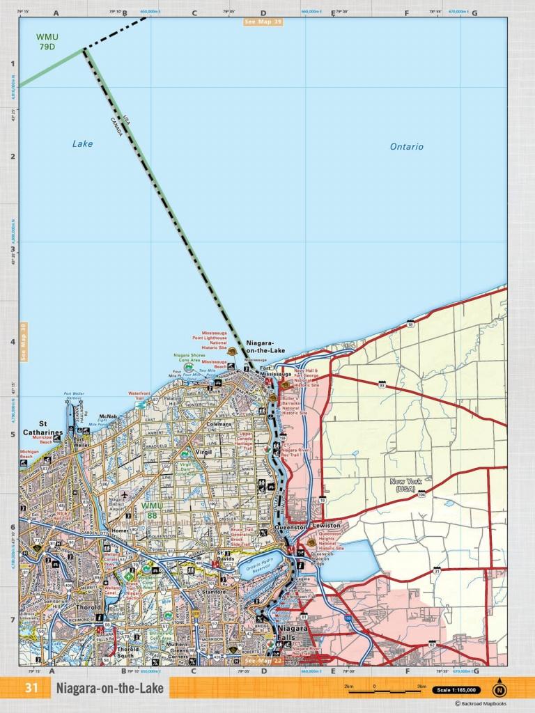 Soon31 Topo - Niagara-On-The-Lake - Printable Map Of Niagara On The Lake