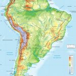 South America Map Physical   Lgq   South America Physical Map Printable