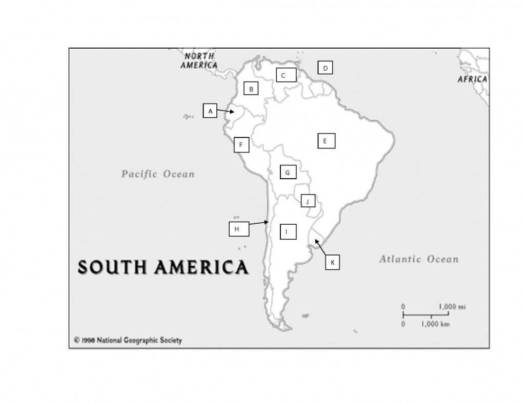 South America Practice Map Test - Proprofs Quiz - Latin America Map Quiz Printable