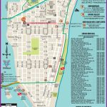 South Beach Restaurant And Sightseeing Map | Miami | South Beach   Map Of Miami Beach Florida Hotels