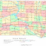 South Dakota Printable Map   South Dakota County Map Printable