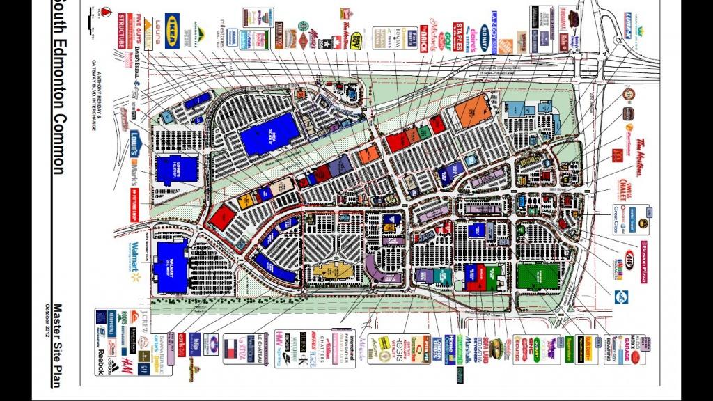South Edmonton Common In Edmonton, Alberta - 169 Stores, Hours - West Edmonton Mall Map Printable