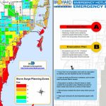 South Florida Evacuation Zones In The Event Of A Hurricane   Nbc 6   Flood Zone Map South Florida