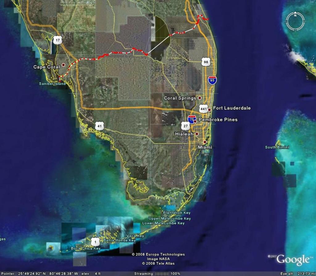 South Florida Map Google | Woestenhoeve - South Florida Map Google