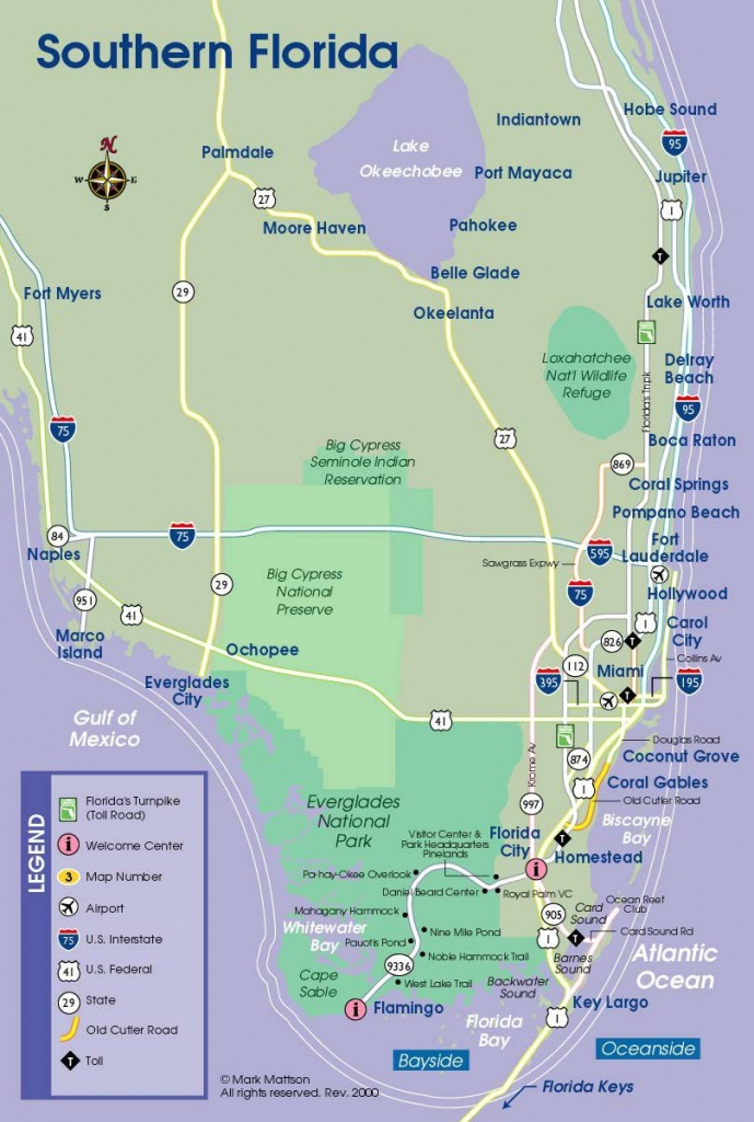 South Florida Map   If Your Or Someone You Love Is Suffering From - Shell Point Florida Map