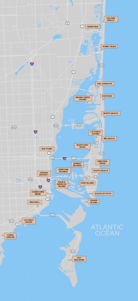 South Florida Map Search - Coral Gables Florida Map