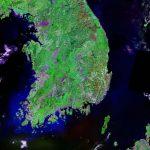 South Korea Map And Satellite Image   Satellite Map Of Florida