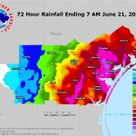 South Texas Heavy Rain And Flooding Event: June 18 21, 2018   Texas Weather Map