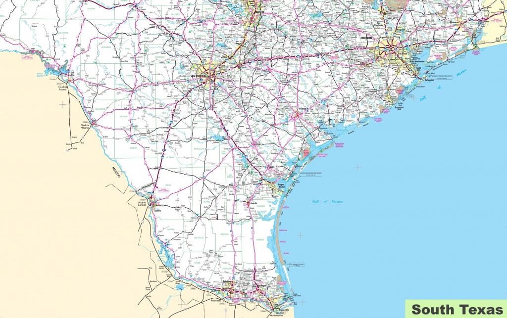 South Texas Maps And Travel Information | Download Free South Texas Maps - Shiner Texas Map