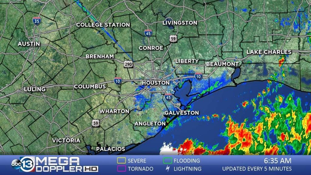 Southeast Texas Radar | Abc13 - Texas Weather Map Today
