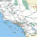 Southern California - Aaccessmaps - Printable Road Map Of Southern California
