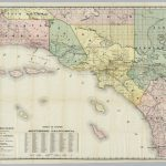 Southern California   David Rumsey Historical Map Collection   Historical Maps Of Southern California