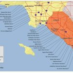 Southern California Map Of Beaches – Map Of Usa District   California Beaches Map