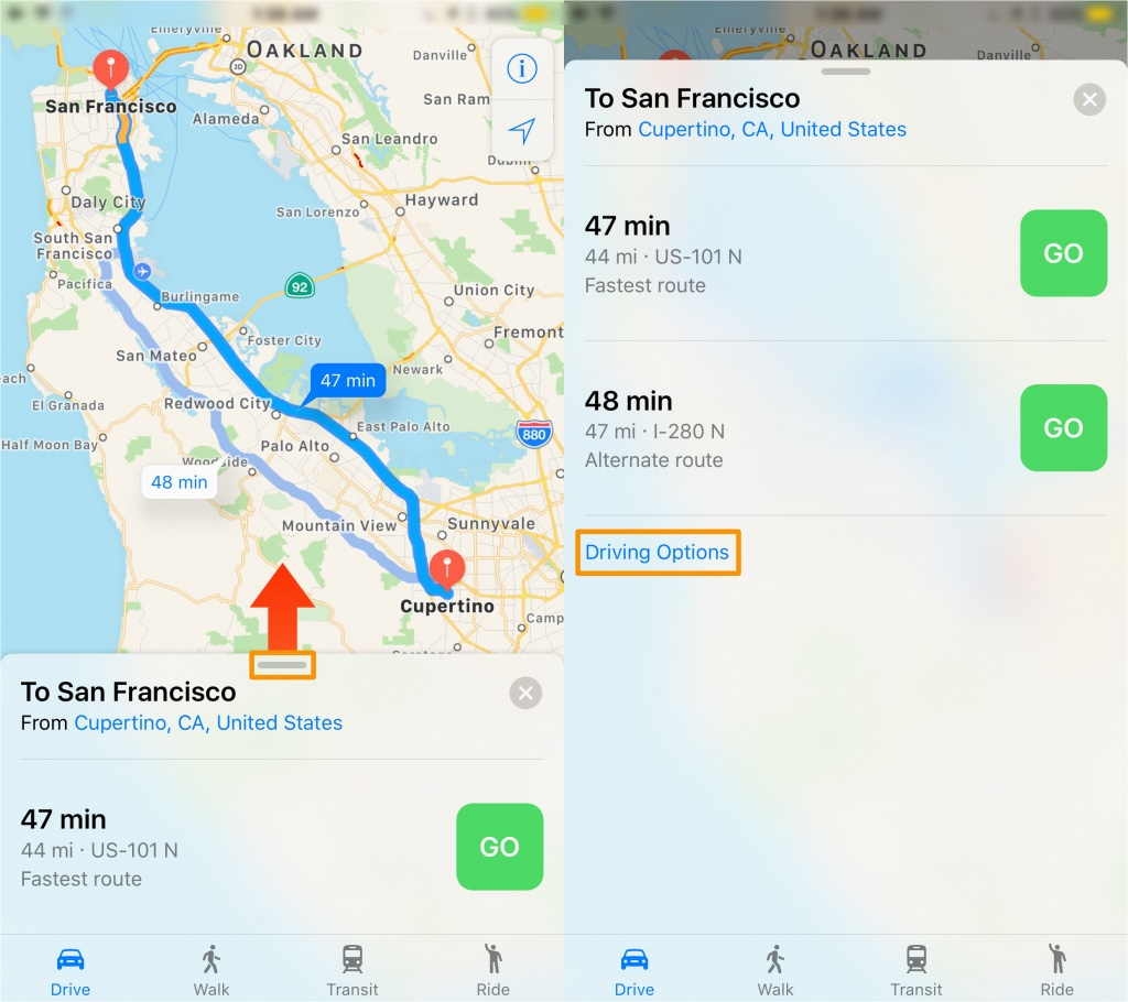 Southern California Toll Roads Map Map Of Highway 101 In California - California Toll Roads Map