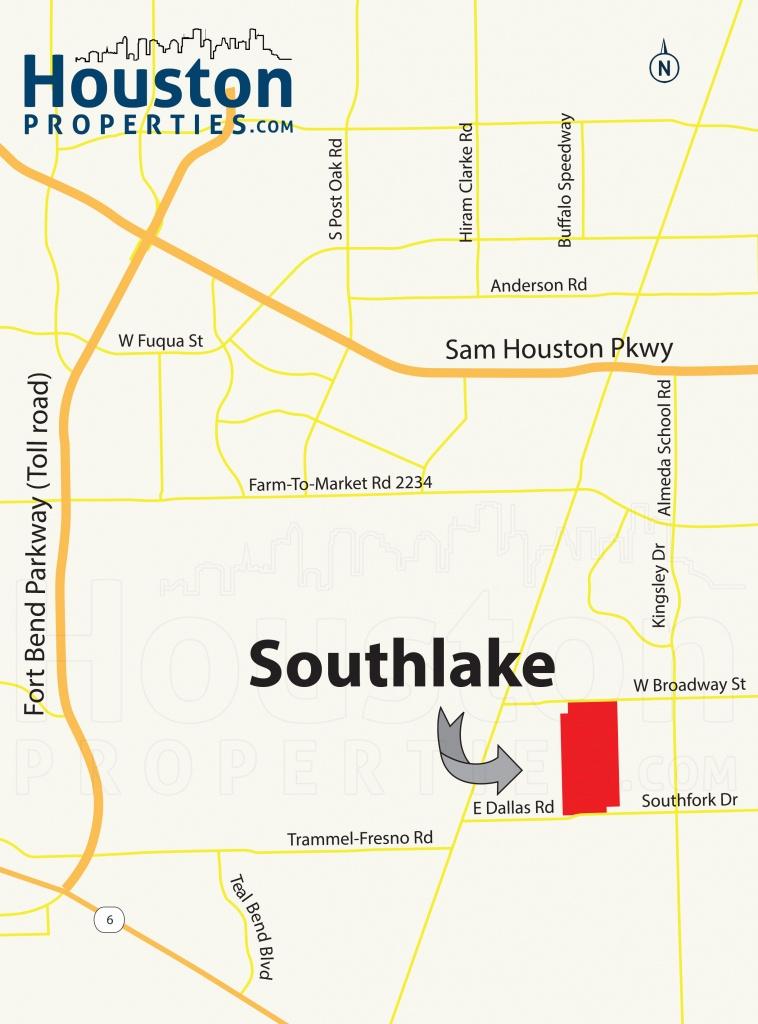 Southlake Pearland Tx Guide | Southlake Homes For Sale - Southlake Texas Map