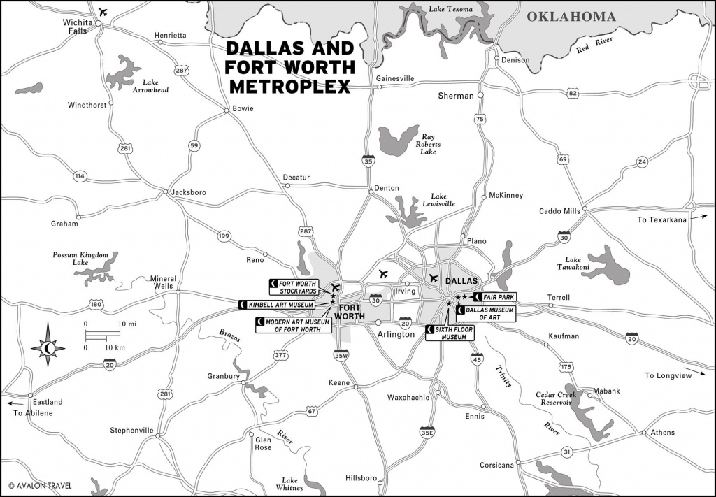 Southwest And Texas | Maps | Dallas Map, Map, Travel Maps - Printable Map Of Dallas Fort Worth Metroplex