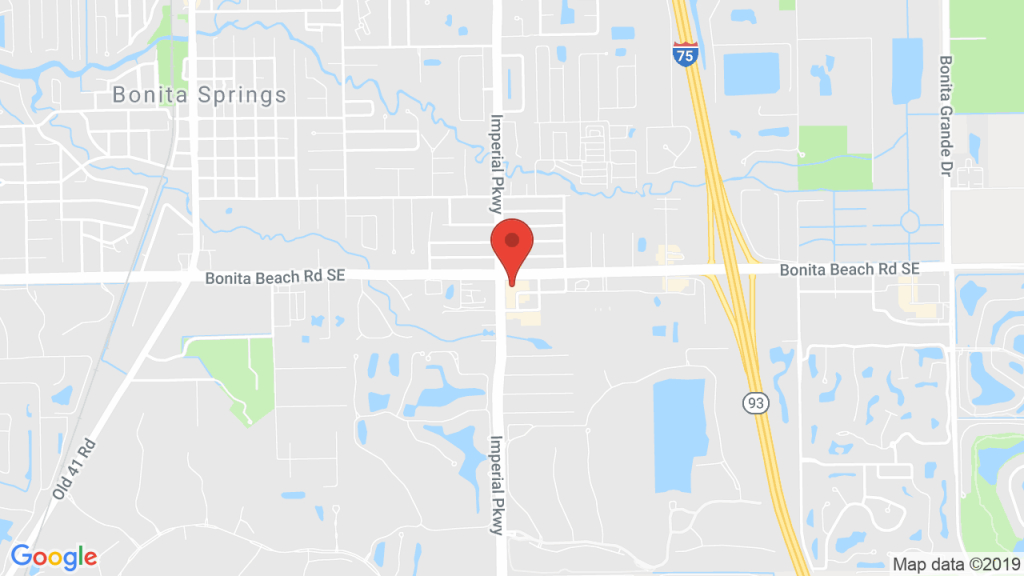 Southwest Florida Performing Arts Center In Bonita Springs, Fl - Bonita Beach Florida Map