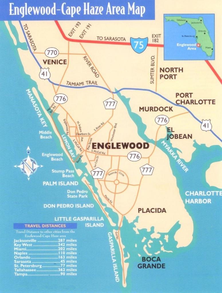 Southwest Florida Vacation Rentals In Cape Hazesunny Dreams Factory - Manasota Key Florida Map