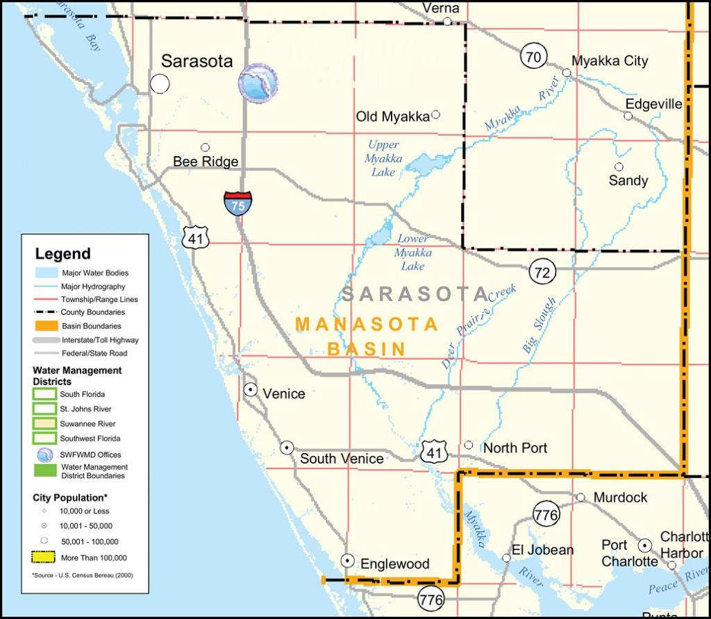 Big Map Of Florida.Florida Watershed Map Free Printable