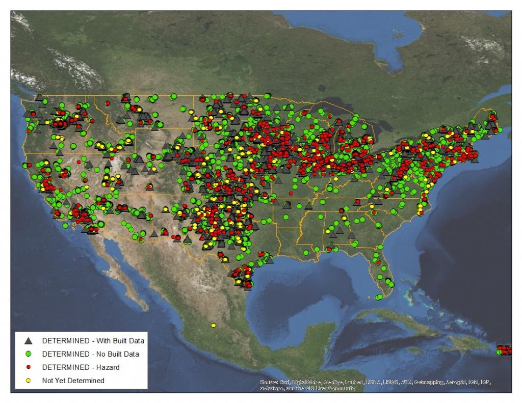 Southwest Region - Wind Farms Texas Map