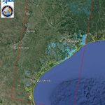 Space Images | Updated Nasa Satellite Flood Map Of Southeastern   Satellite Map Of Texas