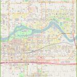 Spokane Downtown Map   Downtown Spokane Map Printable