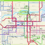 Spokane Downtown Transport Map   Downtown Spokane Map Printable