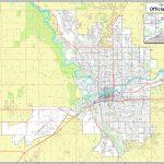 Spokane Street Map   Downtown Spokane Map Printable