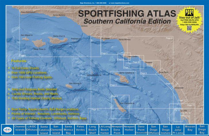 Southern California Fishing Map