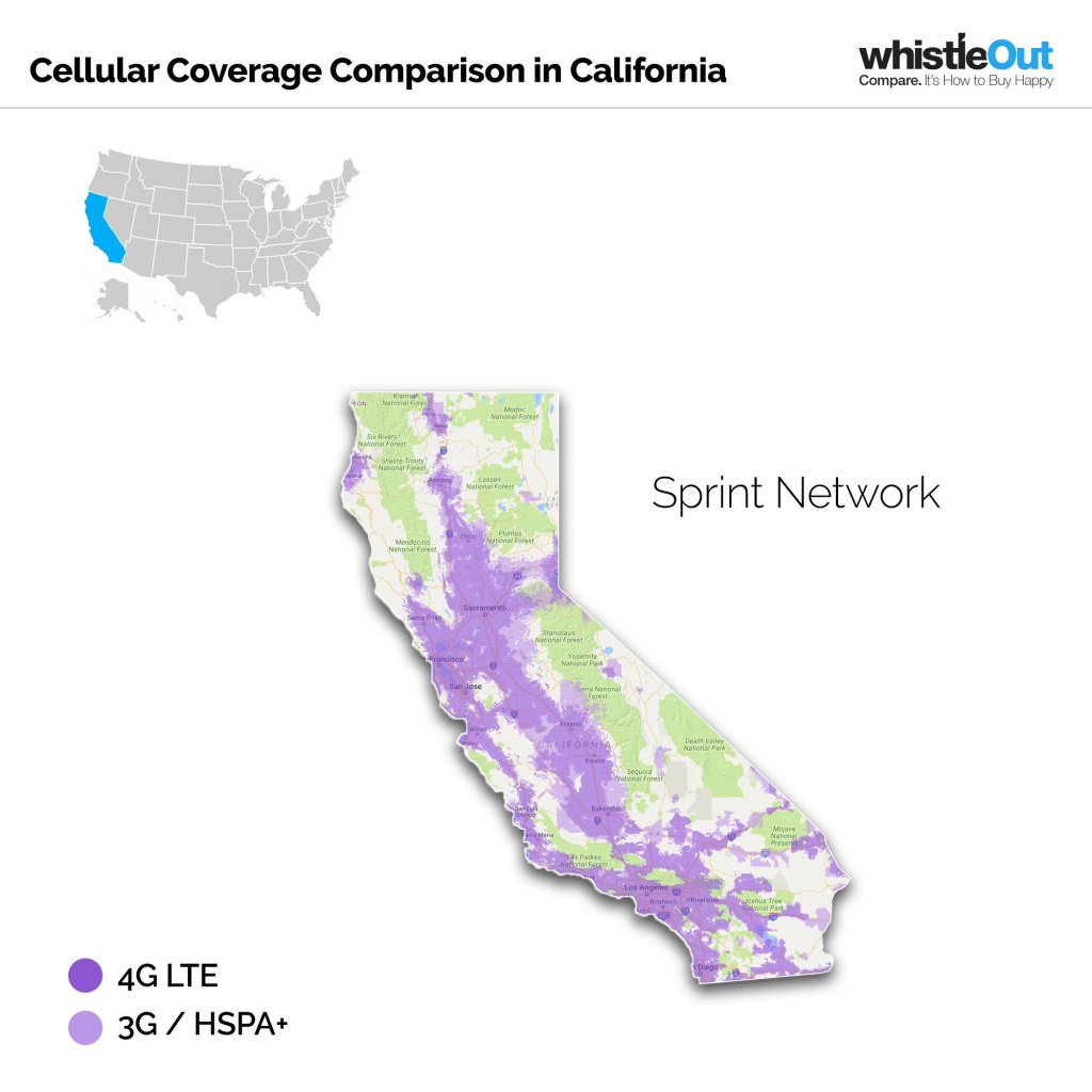 Sprint Us Coverage Map 2016 Mt7M4Iv Inspirational Sprint Coverage - Sprint Coverage Map California