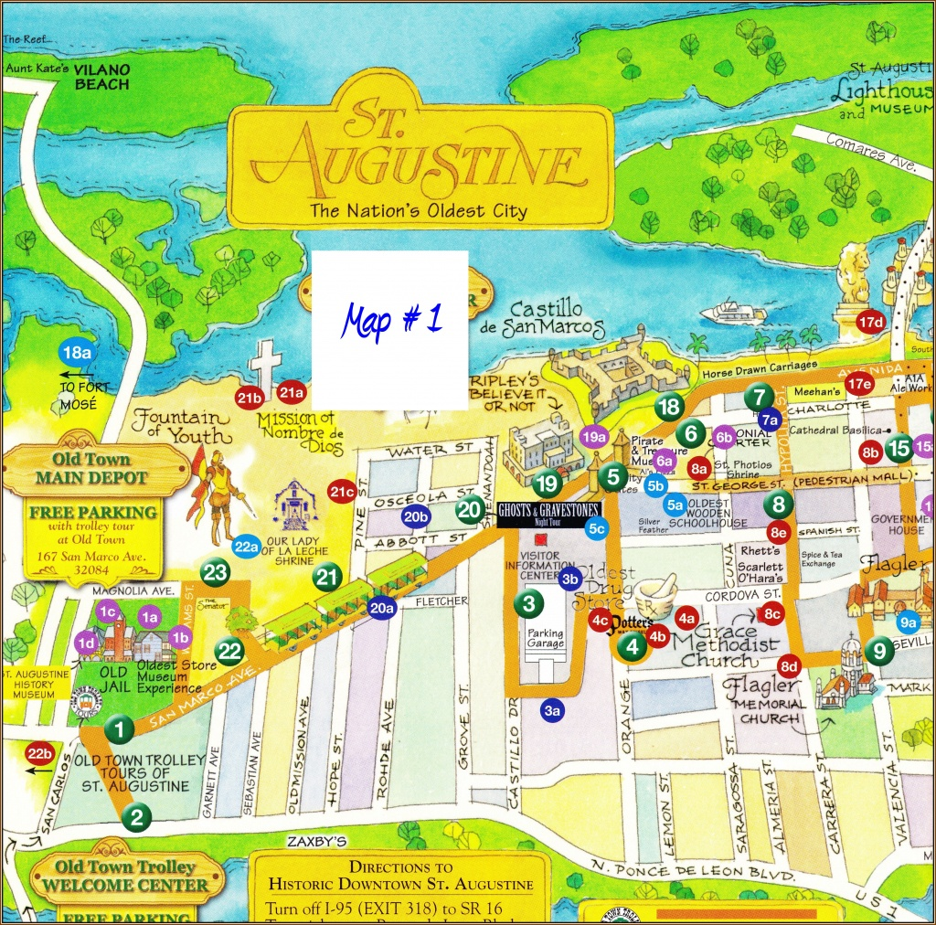 St Augustine Florida Map - Squarectomy - Where Is St Augustine Florida On The Map