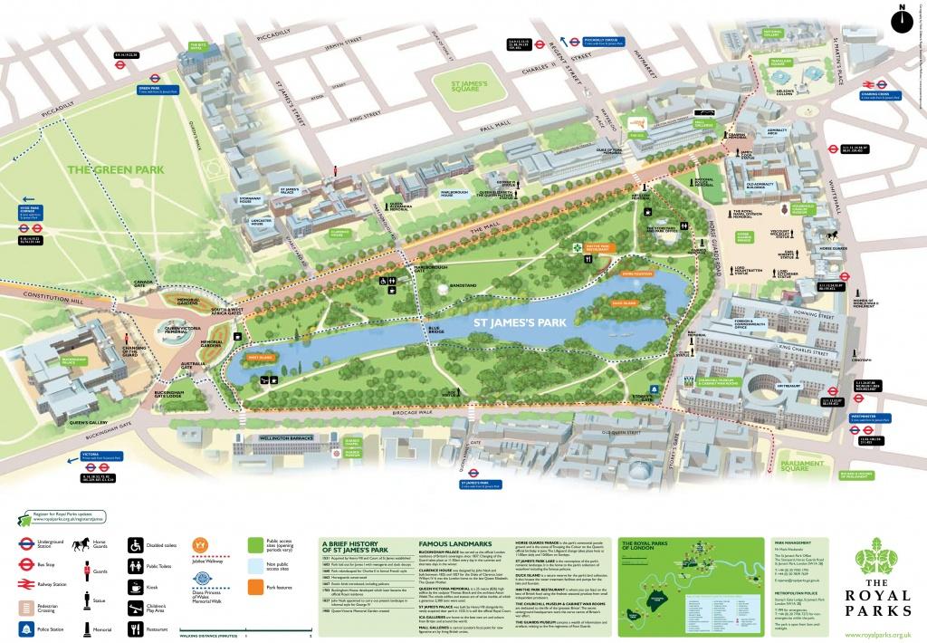 St. James's Park Map - St James Florida Map