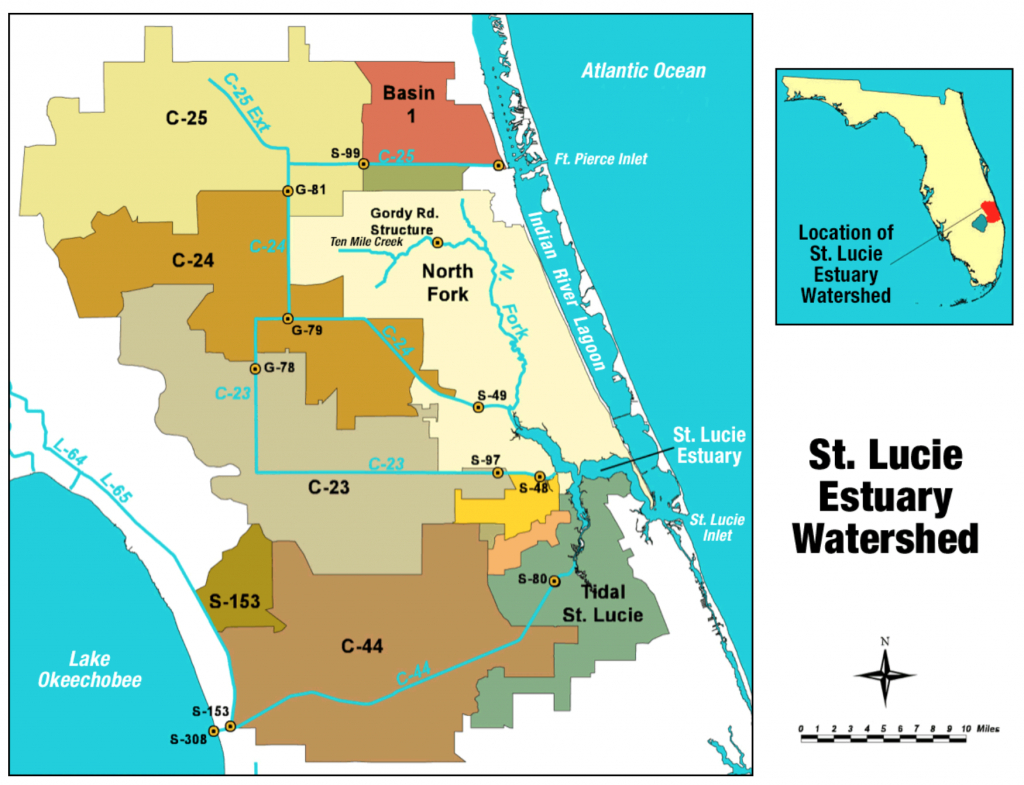 St. Lucie River - Wikipedia - Map Of Florida With Port St Lucie