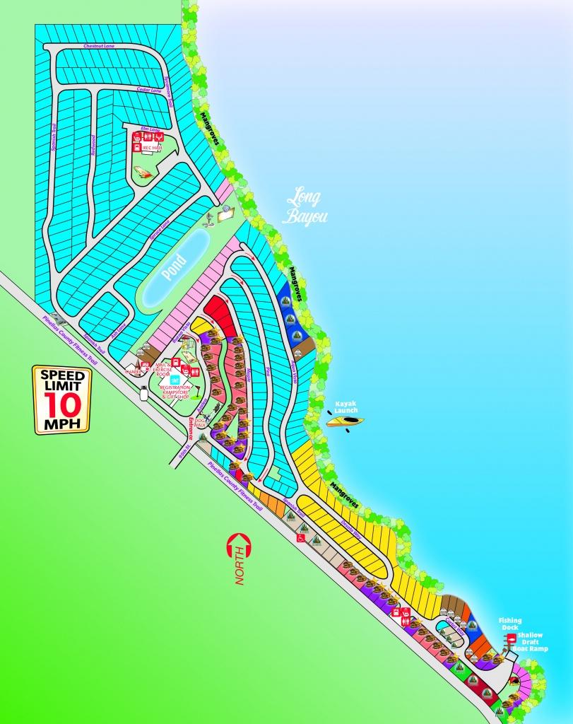 St. Petersburg, Florida Campground | St. Petersburg / Madeira Beach Koa - Koa Florida Map