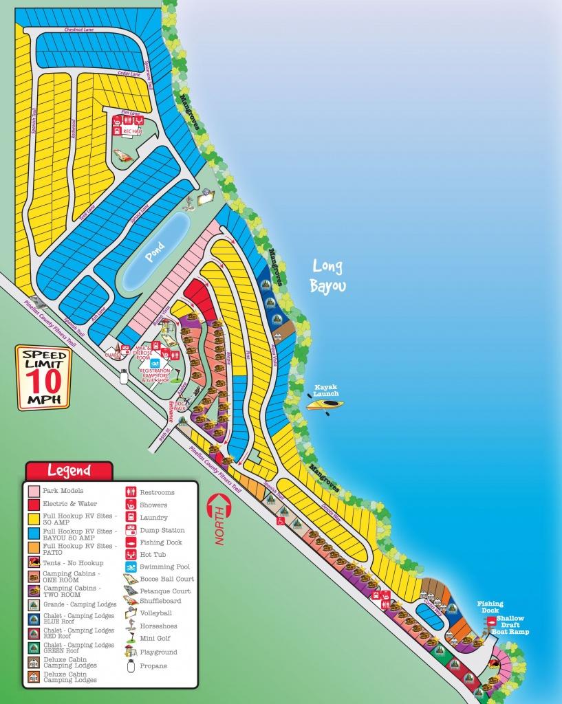 St. Petersburg / Madeira Beach Koa Campsites Start At $51.50 Per - Florida Campgrounds Map